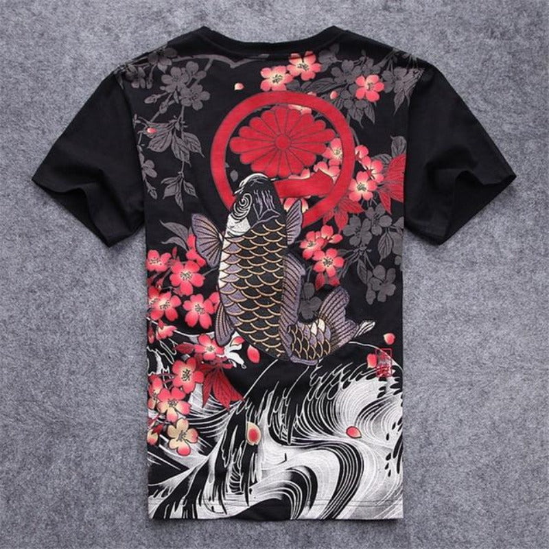 Koi Carpe T Shirt