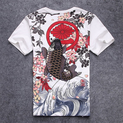 Koi Carpe T Shirt | MJ FRANKO