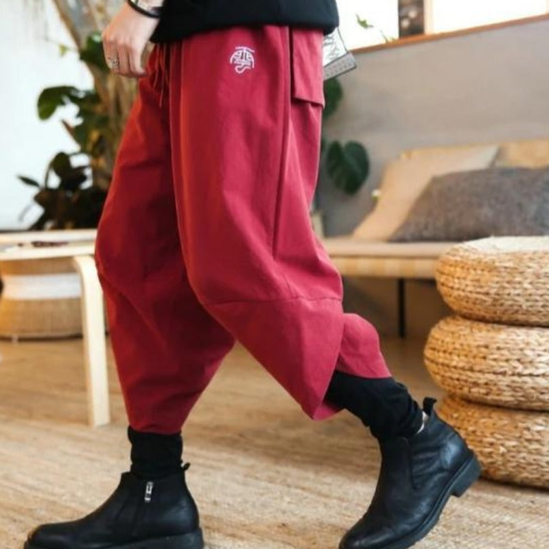 Pantalon Lin Traditionnel