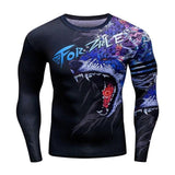 T Shirt Compression loup