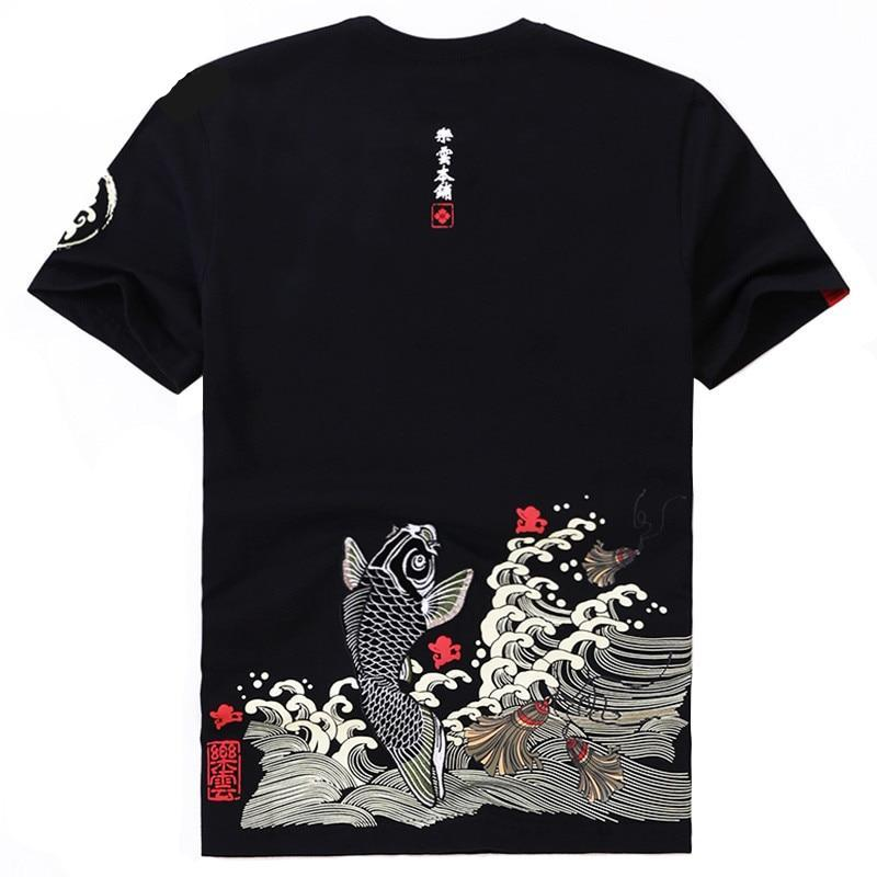 T Shirt Carpe Koi | MJ FRANKO