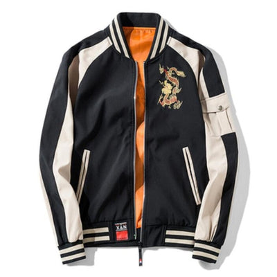 Veste Dragon Bicolore | MJ FRANKO