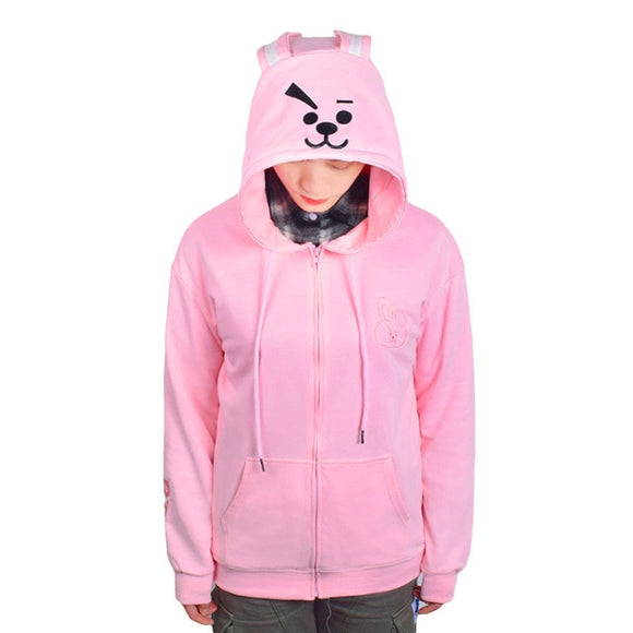 Sweat à capuche mignon BT21 - MJ FRANKO