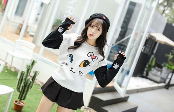 Pull Kawaii chat - MJ FRANKO