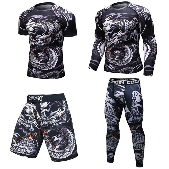 Tenue Fitness Homme Dragon | MJ FRANKO