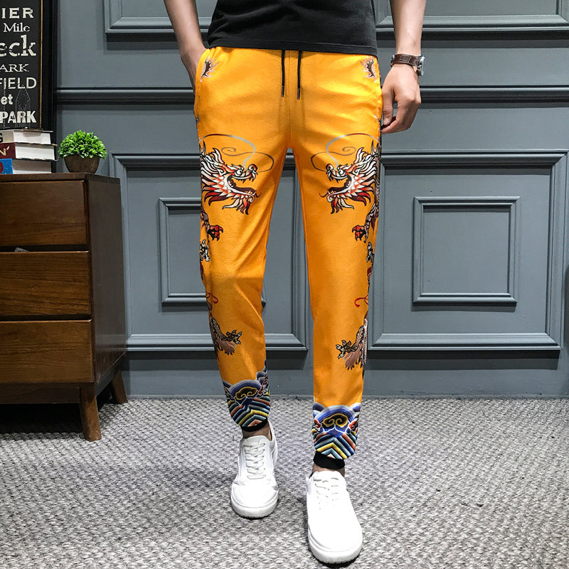 Pantalon Jaune Dragon