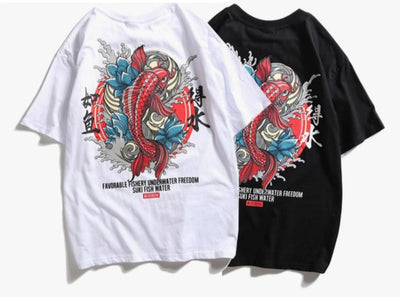 T Shirt Japan Koi | MJ FRANKO