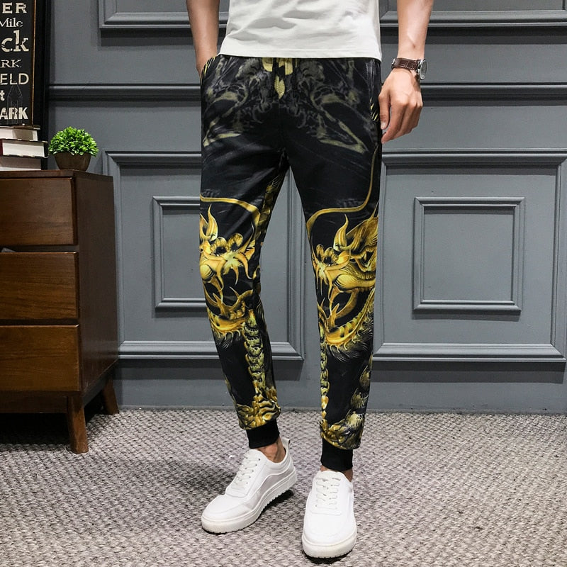 Pantalon Dragon Jaune