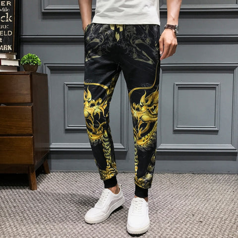 Pantalon Dragon Jaune | MJ FRANKO