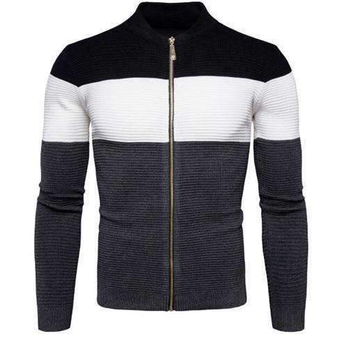 Pull Tricolore Homme