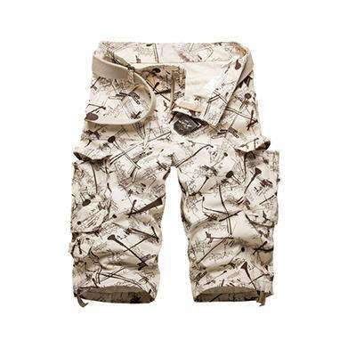 Short Camouflage Avec Poches