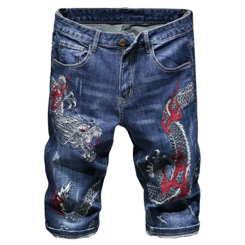 Short Jean Dragon