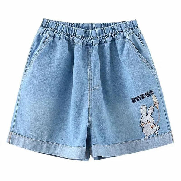 Short Jean Lapin Kawaii