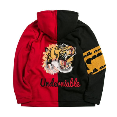 Sweat Bicolore Tigre Japonais | MJ FRANKO