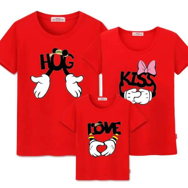 T Shirt Famille Assorti Mickey