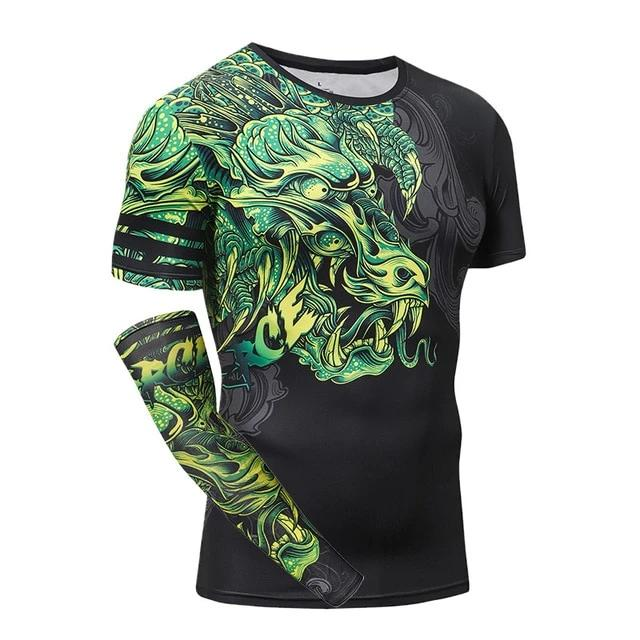 T Shirt Fitness Dragon