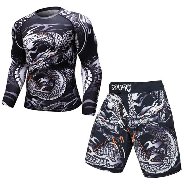 Tenue Fitness Homme Dragon