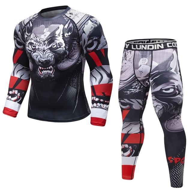 Tenue Fitness Homme Loup