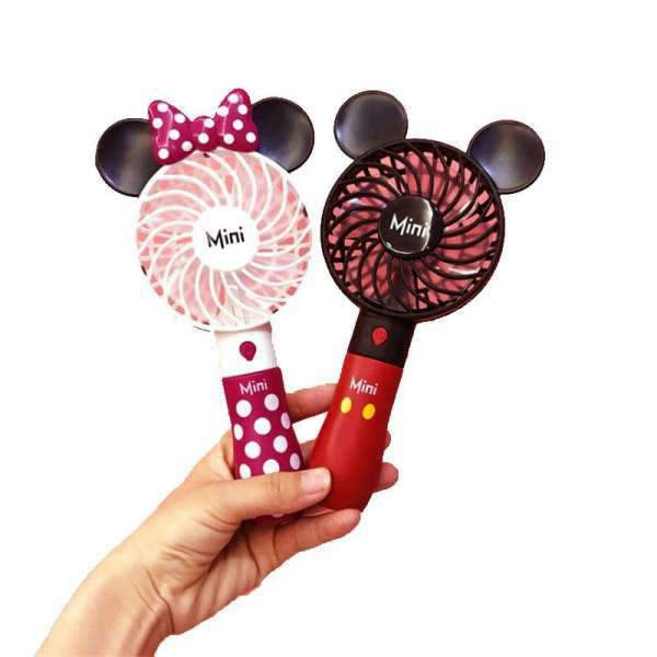 Ventilateur à main Mickey et Minnie