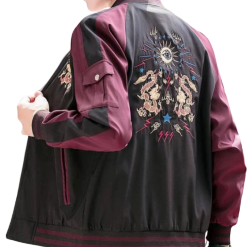 Veste Dragon Bicolore