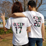 T Shirt Queen King | MJ FRANKO