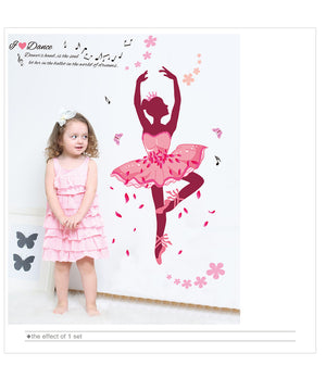 Ballet Dancers  Wall Stickers