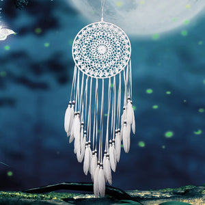White stunning Dream Catcher