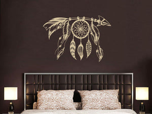 Arrow Dreamcatcher Wall Decal