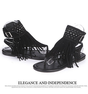 Tassel Summer Shoes Plus Size 34-43
