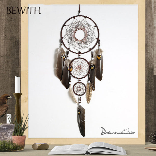 Eagle Feathers Dream Catcher