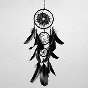 Black Multi-Ring Dream Catcher