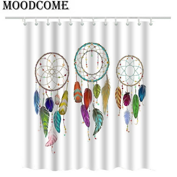 Indian Mandala Shower Curtain