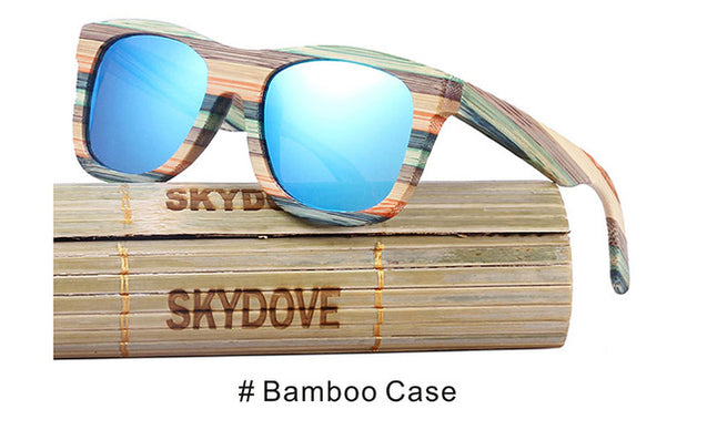 Wooden Mirror Sunglasses