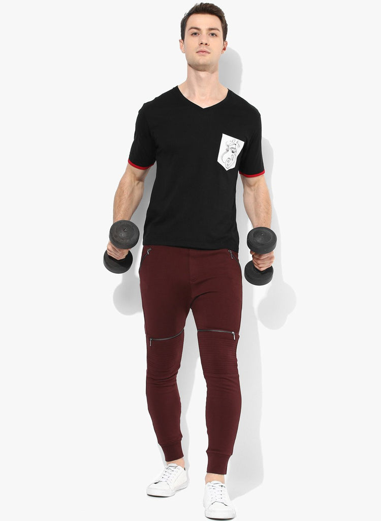 Spiritual Warrior maroon joggers for men are both comfortable and high quality. They keep you cool and dry. These sweatpants are great for yoga, gym, relaxing
