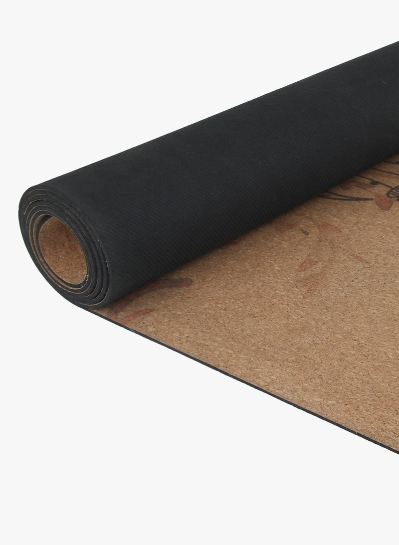 Spiritual Warrior has eco-friendly, organic cork and natural rubber yoga mats. They are non-slip, high quality, with good cushioning for the joints and portable