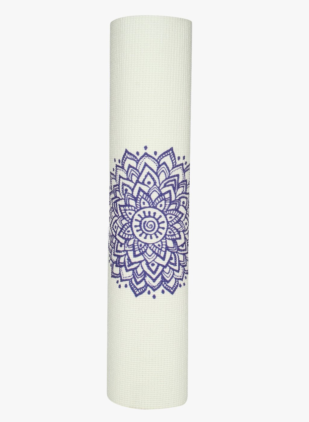 Spiritual Warrior's eco-friendly yoga mats have great grip, anti-slip, good cushioning for the knees, high quality, portable, affordable with Chakra print