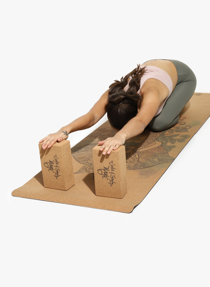Shakti Warrior Cork Yoga Block