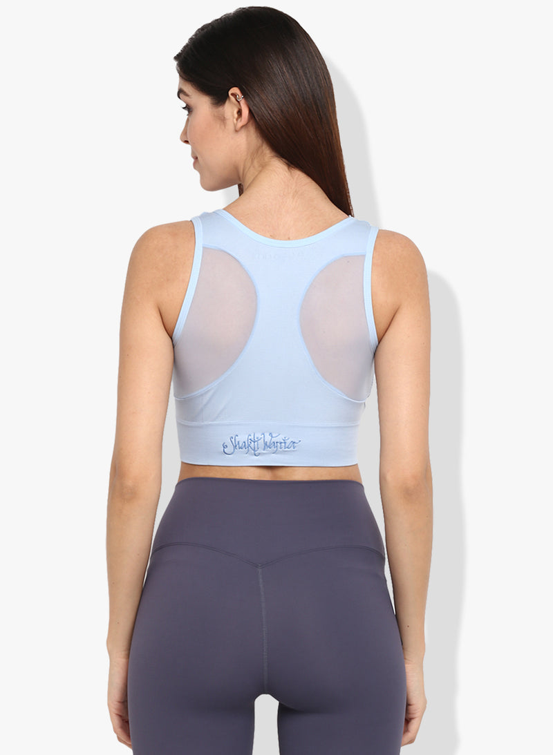 Shakti  Warrior Mirai Sports Bra Light Blue
