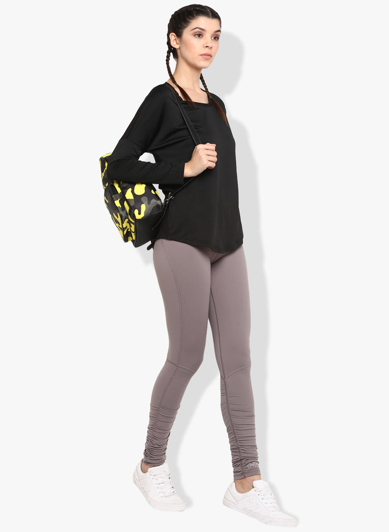 Shakti Warrior Workout Yoga pants grey leggings