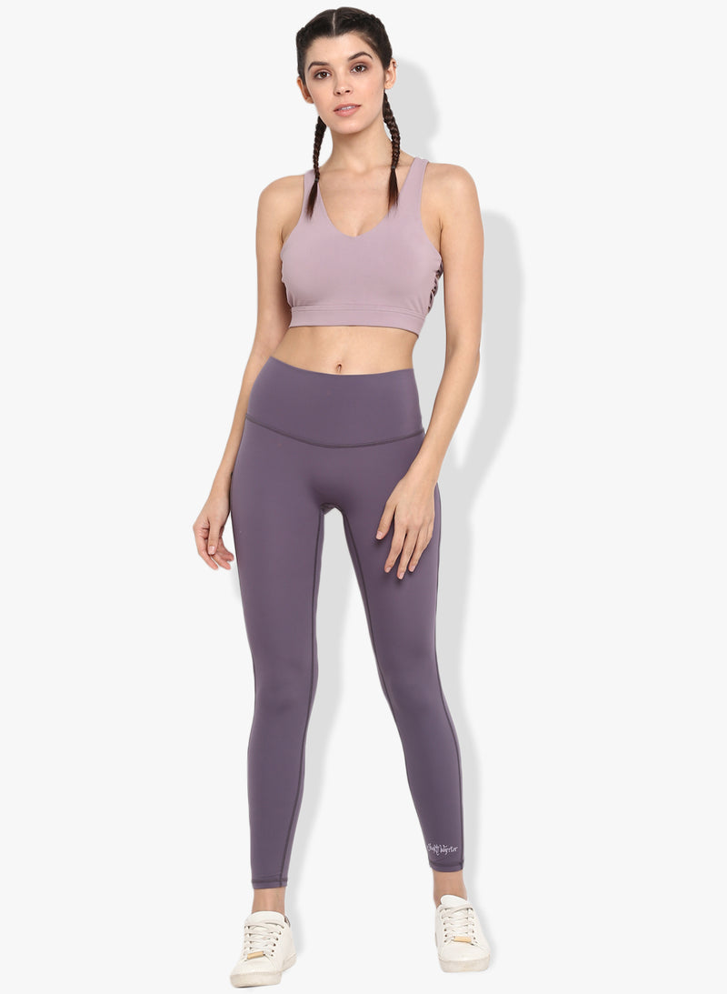Spiritual Warrior Blush Sports Bra
