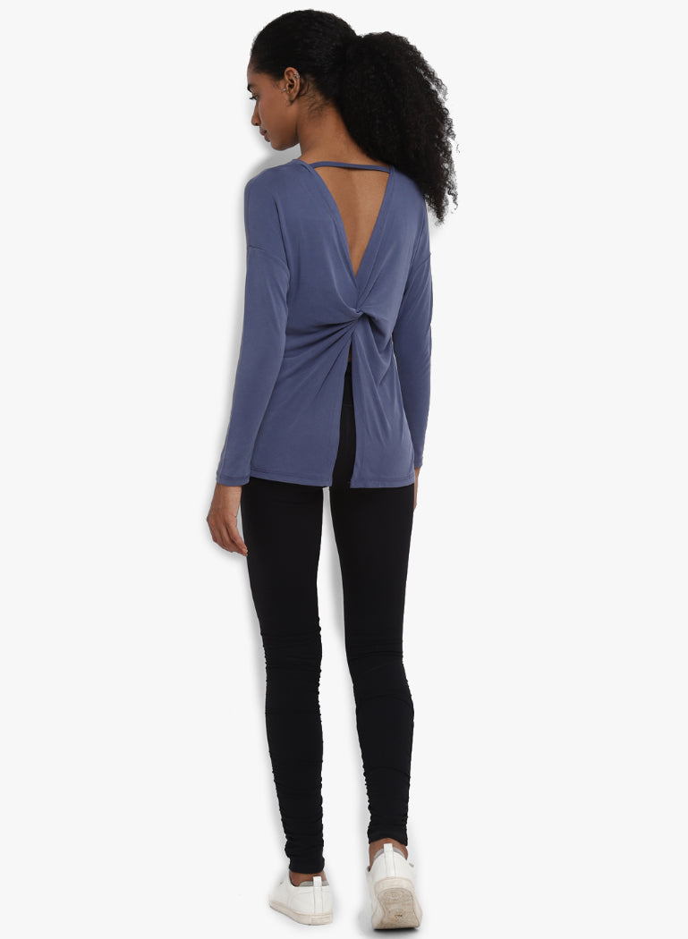 Sahana Split Back Top
