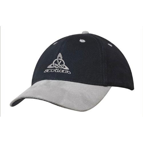 Celtic Knot Design, Suede Peak Baseball Cap