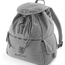 Draw Cord Backpack Rampant Lion Design