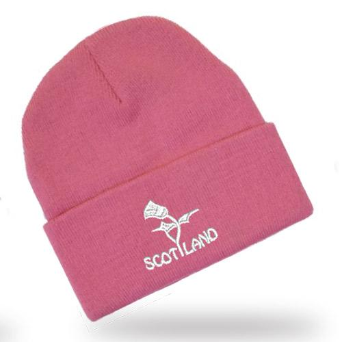 Scottish Thistle Design, Classic Bob Cap