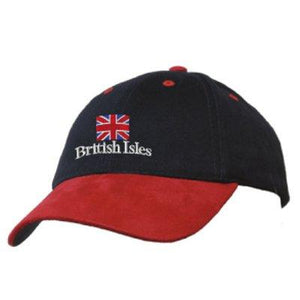 Great British Isles, Suede Peak Baseball Cap