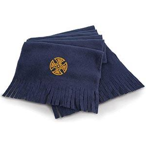 Celtic Circle Artistic Design, Microfleece Scarf