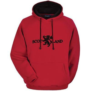 Lion Rampant Design, Luxurious Pullover Hoodie