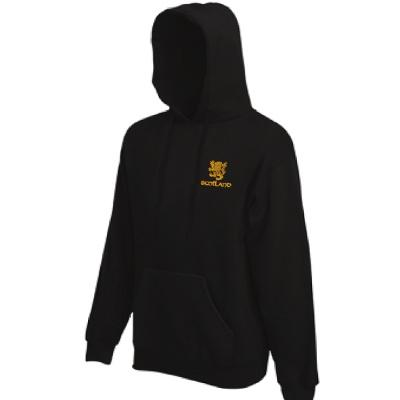 Gold Rampant Lion Design, Pullover Hoodie
