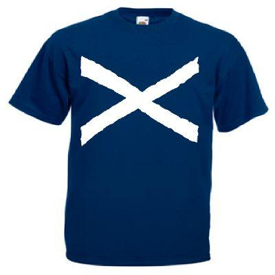 St Andrews Cross, Printed Childrens T-Shirt