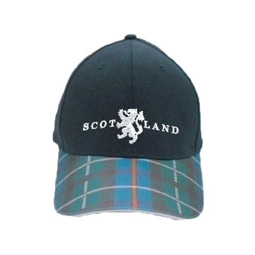 Tartan Baseball Cap, Scottish Design - 3 styles